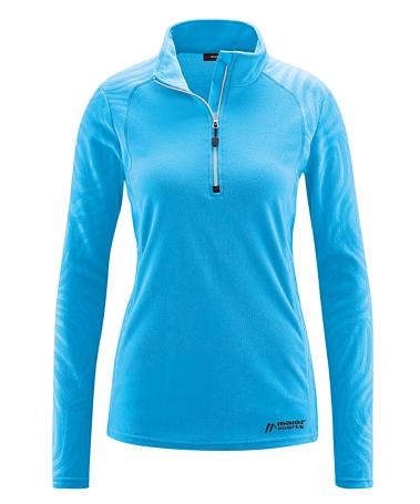 Купить Флис горнолыжный MAIER 2015-16 Midlayer Greta 2 malibu Одежда горнолыжная 1192545
