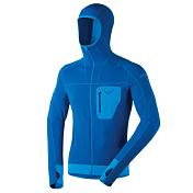Толстовка беговаяОдежда для бега и фитнеса<br>Функциональная куртка с капюшоном из флиса Polartec® Power Stretch® отлично подходит в качестве среднего слоя. Плоские швы удобны при ношении рюкзака и активных движениях, антибактериальная обработка для большего комфорта.&amp;nbsp;<br> <br> - Плоские швы.&amp;nbsp;<br> - Нагрудный карман на молнии.&amp;nbsp;<br> - Эластичные манжеты и низ куртки.&amp;nbsp;<br> - Вес: 327 г.<br>