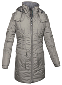 Куртка для активного отдыхаОдежда для активного отдыха<br>Эта куртка из двухслойного материала Powertex выглядит, как шерстяная. <br>Дизайн в стиле одежды первых альпинистских курток и множество практичных деталей, отвечающих сегодняшним требованиям.<br>- водонепроницаемый материал, швы без проклеивания<br>- высококачественная внутренняя отделка<br>- мягкий изнутри воротник для дополнительного комфорта<br>- эргономично скроенные рукава<br>- регулировка манжет с помощью кнопок<br>- центральная молния с внутренним ветрозащитным клапаном по всей длине<br>- 4 объемных кармана<br>- внутренний карман на молнии<br>- эластичная стяжка на талии<br>- утепленный капюшон на молнии с возможностью регулировки<br>- отсек для согревания рук<br>- пластиковая молния выглядит, как металлическая<br><br>Пол: Женский<br>Возраст: Взрослый<br>Вид: куртка