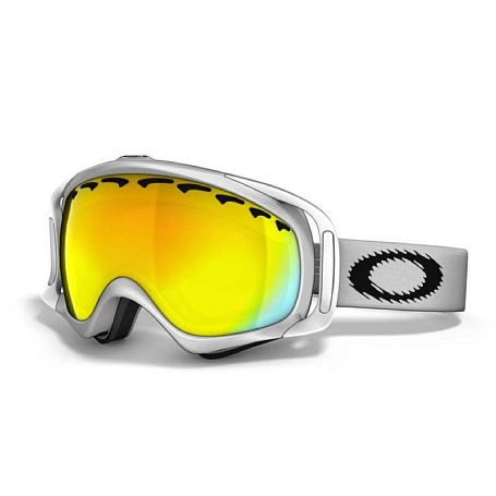 Очки горнолыжные Oakley Crowbar matte white/fire