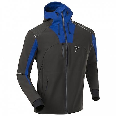 Купить Куртка беговая Bjorn Daehlie JACKET/PANTS Jacket TRAVERSE Phantom/Surf The Web (Т.Серый/синий) Одежда лыжная 1103094