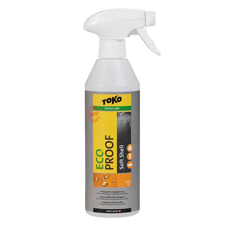 Пропитка TOKO Textile Care Eco Soft-Shell Proof 500ml INT