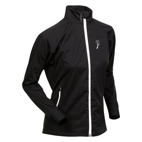 Купить Куртка беговая Bjorn Daehlie Jacket OLYMPIC LIGHT Women Black/Snow White (черный/белый) Одежда лыжная 775488