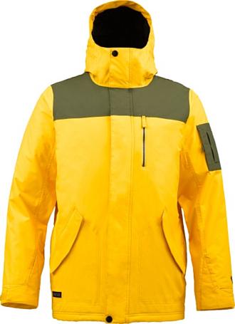 Купить Куртка сноубордическая BURTON 2013-14 M TWC TRACKER JKT GOLDMINE/KEEF Одежда 1021835