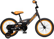 Велосипед Trek Jet 16 Kds 16&Quot; 2016 Matte Trek Black/blazin' Orang