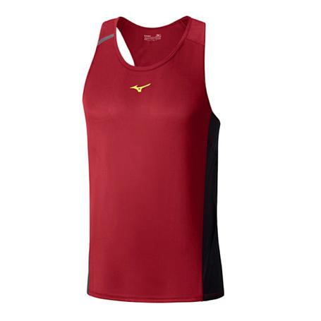 Купить Майка беговая Mizuno 2016 Premium Aero Singlet красный Одежда туристическая 1264783