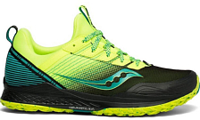 Беговые кроссовки Saucony 2020 Mad River Tr Citron/Black