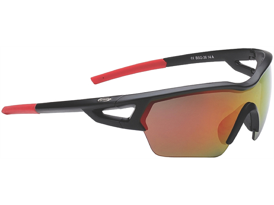 Очки солнцезащитные BBB 2015 sunglasses Arriver PC MLC red lens (BSG-36)