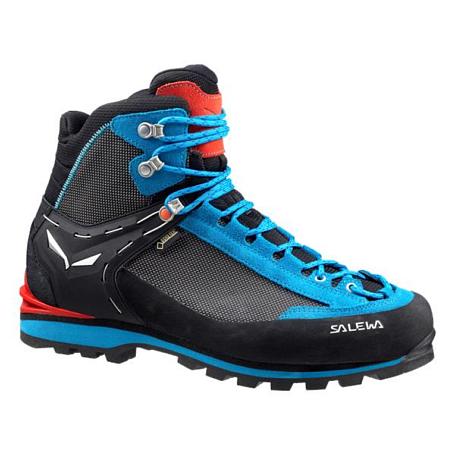 Купить Ботинки для альпинизма Salewa 2017 WS CROW GTX Black/Hot Coral Альпинистская обувь 1330008