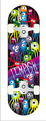Скейтбоард в Сборе Tempish 2016 Kids Funny Kids Рисунок с Осьминожками/цветной