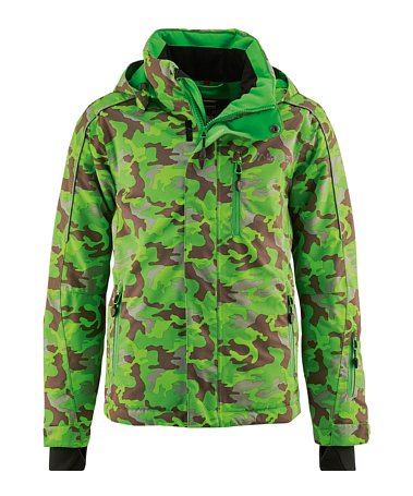 Куртка горнолыжная MAIER 2015-16 0616 Camouflage green/teak allover