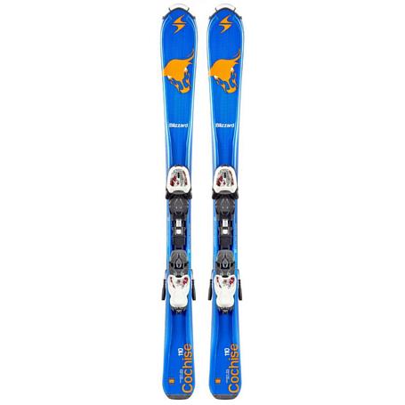 Купить Горные лыжи с креплениями Blizzard 2015-16 Junior COCHISE IQ JR+IQ-4.5(70-130) BLA-GRE-WHI 1119694