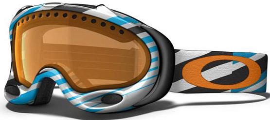 Купить Очки горнолыжные Oakley A-Frame tech stripe jewel blue pers, горнолыжные, 766000