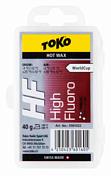 Универсальный парафин TOKO TRIBLOC TRIBLOC HF (красная, -4/-12С, 40 гр.)