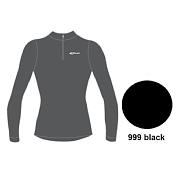 �������� � ������� ������� ACCAPI TECNOSOFT PLUS LONG SL.T-SHIRT 1/2 ZIP MAN (black) ������
