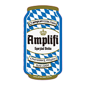 Наклейка на сноуборд Amplifi Can Stomp Triple brew