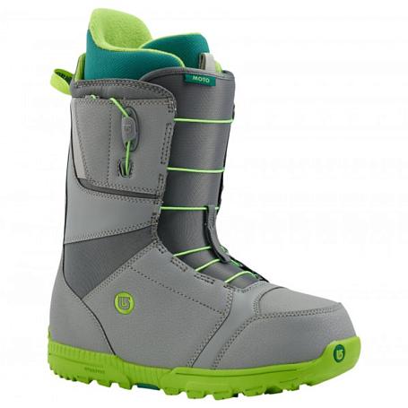Купить Ботинки для сноуборда BURTON 2015-16 MOTO GRAY/GREEN 1134554