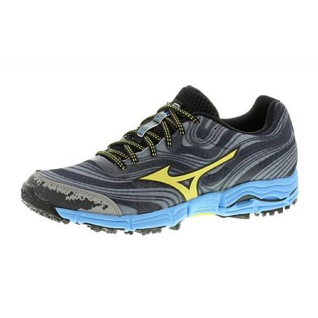 Купить Беговые кроссовки для XC Mizuno Wave Kazan т.сер/жел/гол Кроссовки бега 1153678