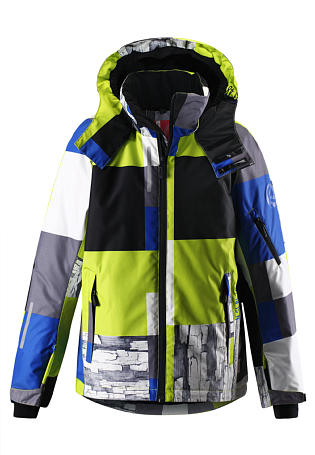 Купить Куртка горнолыжная Reima 2015-16 Detour spring green Детская одежда 1197472