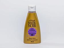 КремКосметика и уход<br>Солнцезащитный витаминизированный крем для лица SOLEIL NOIR — идеальное решение для защиты кожи от негативных последствий воздействия солнечных лучей. Мульти витаминный состав дарит коже идеальный баланс влаги, а антиоксидантный комплекс защищает от фотостарения и стимулирует иммунную функцию кожи. <br>Объем 50 мл <br><br>•&amp;nbsp;&amp;nbsp;&amp;nbsp;&amp;nbsp;1 физический и 5 химических фильтров защиты от лучей спектра А и В<br>•&amp;nbsp;&amp;nbsp;&amp;nbsp;&amp;nbsp;Витамины Е и F с жирными кислотами Омега-3 и pro-А оказывают антиоксидантное действие<br>•&amp;nbsp;&amp;nbsp;&amp;nbsp;&amp;nbsp;Витамин С обеспечивает регенерацию клеток кожи <br>•&amp;nbsp;&amp;nbsp;&amp;nbsp;&amp;nbsp;Бета-каротин &amp;#40;Pro-Retinol&amp;#41; —мощный антиоксидант, защищает от солнечного излучения, помогает получить ровный и стойкий загар и предотвратить старение кожи<br>•&amp;nbsp;&amp;nbsp;&amp;nbsp;&amp;nbsp;Провитамин В5 способствует регенерации, повышению эластичности и смягчению кожи<br>•&amp;nbsp;&amp;nbsp;&amp;nbsp;&amp;nbsp;Масла оливы, зародышей пшеницы и бурачника питают и восстанавливают<br>•&amp;nbsp;&amp;nbsp;&amp;nbsp;&amp;nbsp;Экстракт алоэ веры увлажняет и успокаивает<br><br>Применение: нанести перед выходом на солнце. Обновлять слой средства для поддержания защиты.<br>