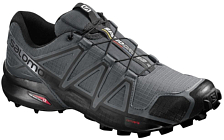 Беговые кроссовки для XC Salomon 2018 SPEEDCROSS 4 Darkcloud/Black/Pgrey