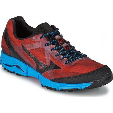 Купить Беговые кроссовки для XC Mizuno Wave Mujin крас/чер/гол, Кроссовки бега, 1153645