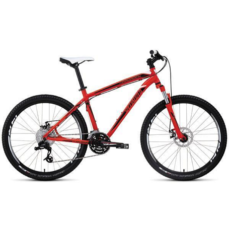 Велосипед SPECIALIZED Hardrock Disc Red/Blk/Wht