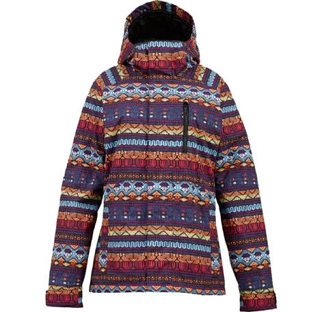 Купить Куртка сноубордическая BURTON 2013-14 WB HORIZON JK ANTIGUA STRIPE Одежда 1021889