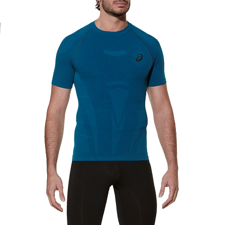 Купить Футболка беговая Asics 2015-16 SS Top Одежда для бега и фитнеса 1190980