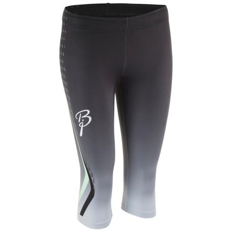 Купить Тайтсы 3/4 беговые Bjorn Daehlie TOPS/TIGHTS Tights IGNITE Women Black/green / Черный/Зеленый Одежда для бега и фитнеса 1181929