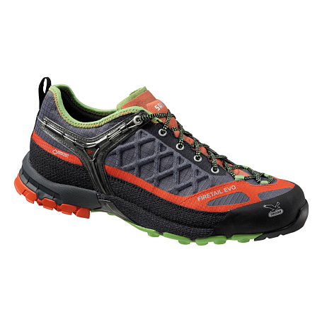 Купить Треккинговые кроссовки Salewa Tech Approach MS FIRETAIL EVO GTX Smoke/Grenatine Треккинговая обувь 1090041