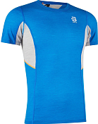 Футболка беговая Bjorn Daehlie 2020 Training Wool Summer Tshirt Blue