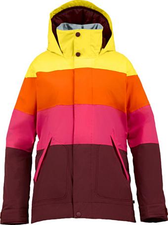 Купить Куртка сноубордическая BURTON 2013-14 WB ECLIPSE JK SANGRIA COLORBLOCK Одежда 1021922