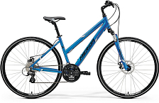 Велосипед MERIDA Crossway 15-MD Lady 2018 Blue