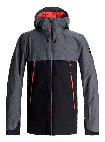 Купить Куртка сноубордическая Quiksilver 2017-18 SIERRA JK M SNJT KVJ0 BLACK Одежда 1361166