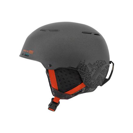 Купить Зимний Шлем Giro 2017-18 COMBYN MATTE DARK GREY SUB POP, Шлемы для горных лыж/сноубордов, 1368326