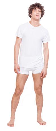 Купить Футболка ACCAPI SKIN TECH SHORT SL.T-SHIRT (white) белый Термобелье 803180