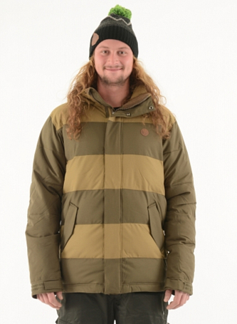 Купить Куртка сноубордическая I FOUND 2015-16 BIRCH (fibre dawn) ANTIQUE BROWN Одежда 1224386