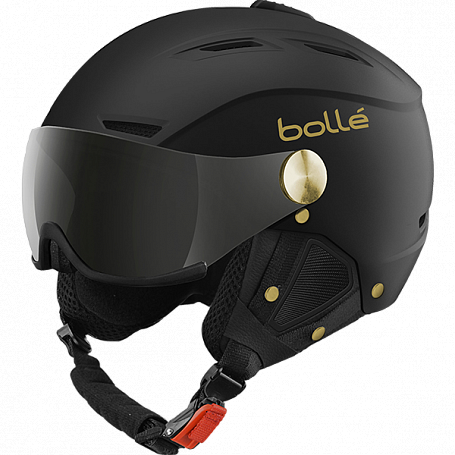 Зимний Шлем Bolle 2015-16 BACKLINE VISOR SOFT BLACKGOLD
