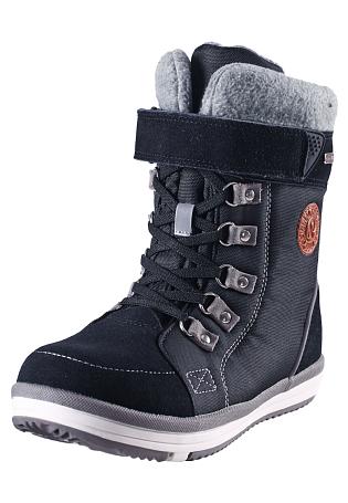 Купить Ботинки городские (высокие) Reima 2016-17 FREDDO ЧЕРНЫЙ, Обувь для города, 1274400