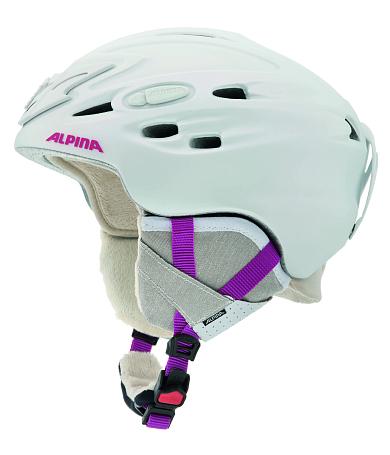 Купить Зимний Шлем Alpina 2015-16 ALL MOUNTAIN SCARA pearlwhite pink matt, Шлемы для горных лыж/сноубордов, 1194020
