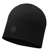 Шапка Buff Heavyweight Merino Wool Hat Solid Black