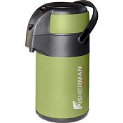 ТермосПосуда туристическая<br>Теплый чай в любое время! <br> Термос объемом 2500 литров сохраняет температуру напитка на протяжении всего дня, что особенно важно при длительном нахождении на природе в холодное время года.<br> При изготовлении термоса использована нержавеющая сталь со специальными примесями, продлевающими срок службы и предотвращающими окисление металла.<br> Термос удобно переносить благодаря функциональной ручке.<br> <br> Для предотвращения остывания жидкости и безопасности, в пробке термоса предусмотрена надежная и герметичная система кнопочного клапана&amp;nbsp;<br><br>Пол: Унисекс<br>Возраст: Взрослый