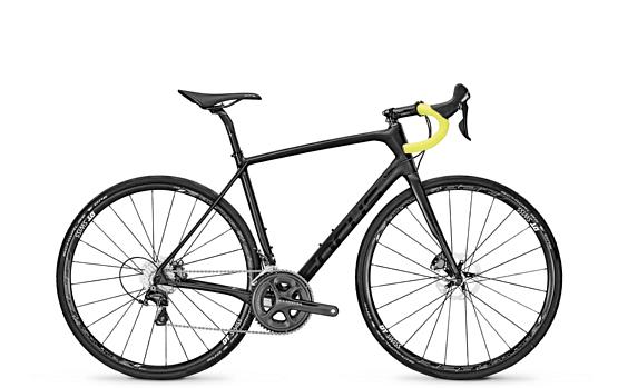 Купить Велосипед FOCUS PARALANE ULTEGRA 2017 CARBON/BLACK MATT Шоссейные 1318723