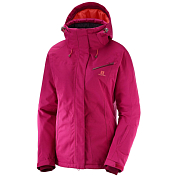 Куртка горнолыжная Salomon 2018-19 FANTASY JKT W Cerise Heather