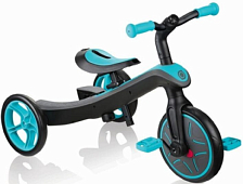 Беговел Globber Trike Explorer 2 in 1 2021 голубой