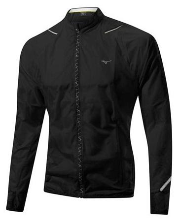 Купить Куртка беговая Mizuno 2014 ImpermaLite Jacket чер Одежда для бега и фитнеса 1139505