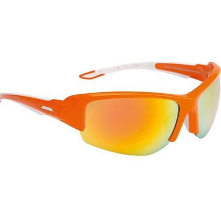 Купить Очки солнцезащитные Alpina SPORT STYLE CALLUM 2.0 orange-white/orange mirror S3, солнцезащитные, 1131795