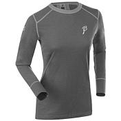 Футболка с длинным рукавом Bjorn Daehlie UNDERWEAR Shirt WARM LS Women Shark/Periscope