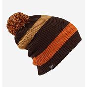 ШапкаГоловные уборы<br>Базовая шапка в полоску и с помпоном. <br><br>Состав: 100% Акрил